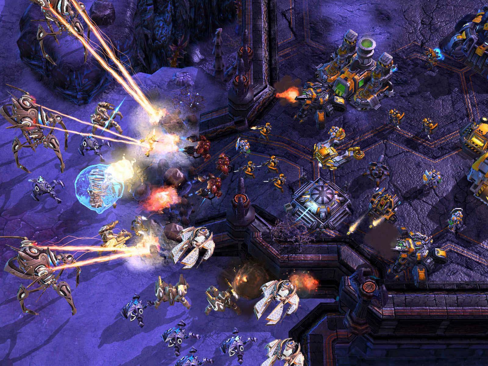 StarCraft II Beta для Mac OSX.